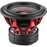 "DS18 HOOL12.2D Hooligan 12"" Competition 6,000W Max Dual 2 Ω Voice Coil Subwoofer, Set of 1"