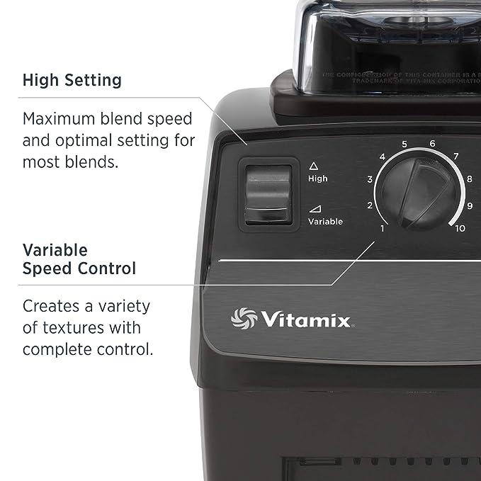 VITAMIX Batidora Serie 5200-64 onzas Negro: Amazon.es: Hogar
