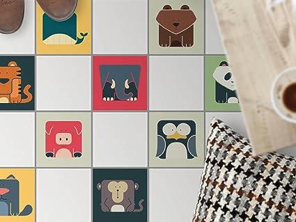 Piastrelle decorative pavimento per interni decori stickers design