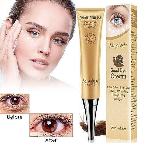 Amazon.com: Crema de ojos para debajo de los ojos, crema ...