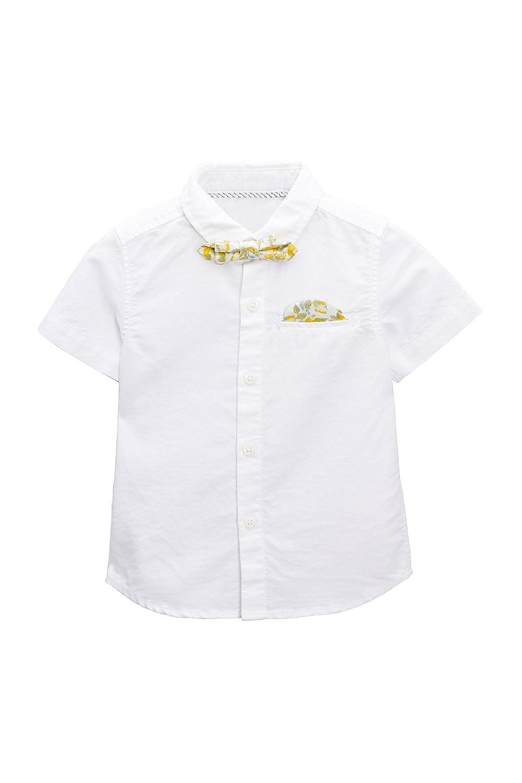 next Niños Camisa Oxford con Pajarita (3 Meses - 6 Años) Blanco 5 ...