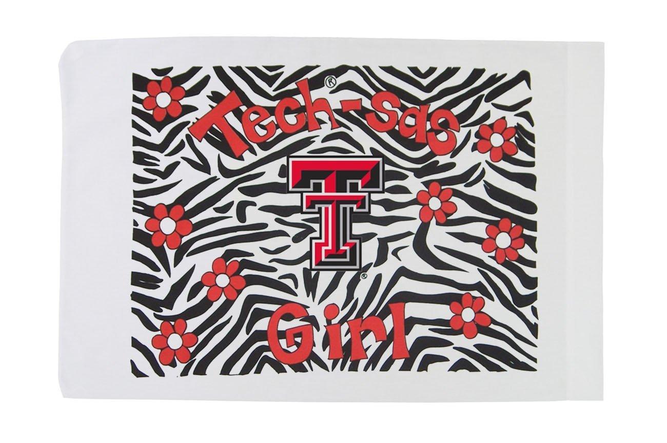 Standard Pillowcase - Texas Tech - Tech-sas Girl