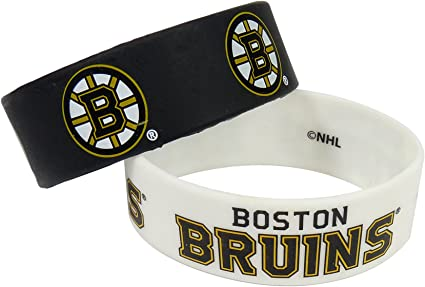 2-Pack NHL New Jersey Devils Silicone Rubber Bracelet