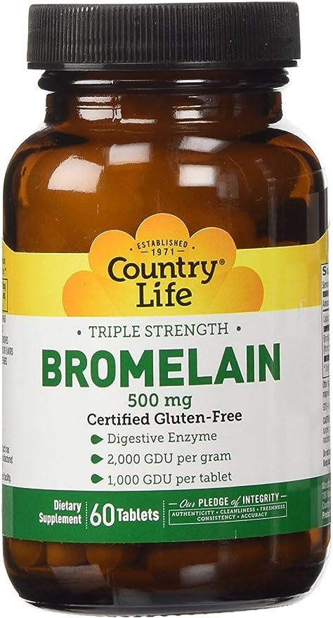 Bromelain for allergies