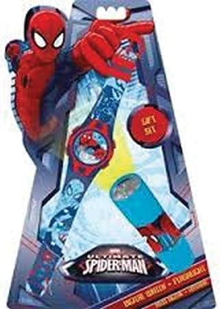 Unbekannt Spiderman Reloj de Pulsera y Linterna: Amazon.es: Juguetes y juegos