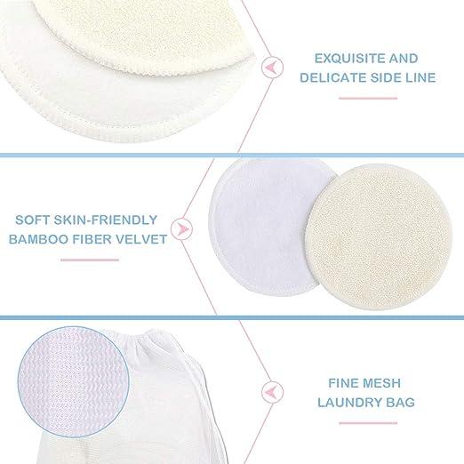 Amazon.com: Almohadillas para quitar maquillaje, paquete de ...