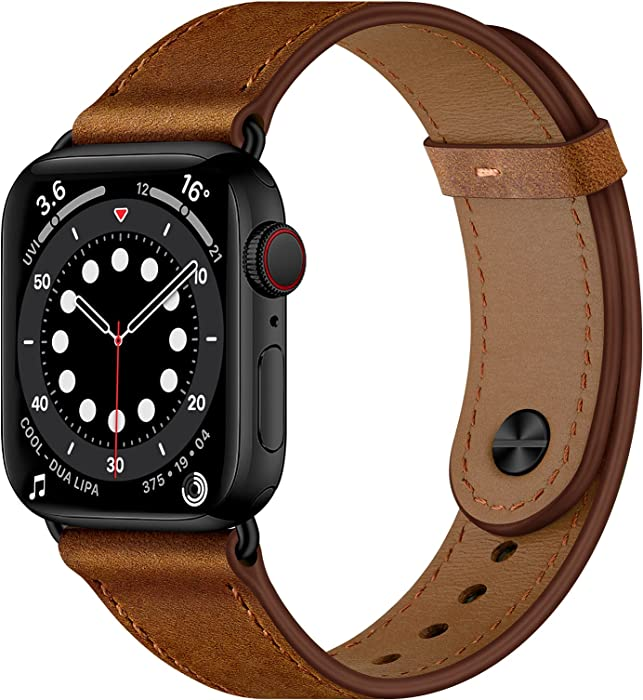 Top 10 Apple Series 2 Watch Band 42Mm Leather Magnetic