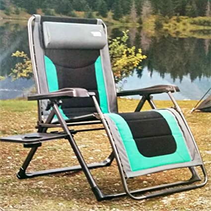 Timber Ridge Zero Gravity Lounge Chair With Side Table