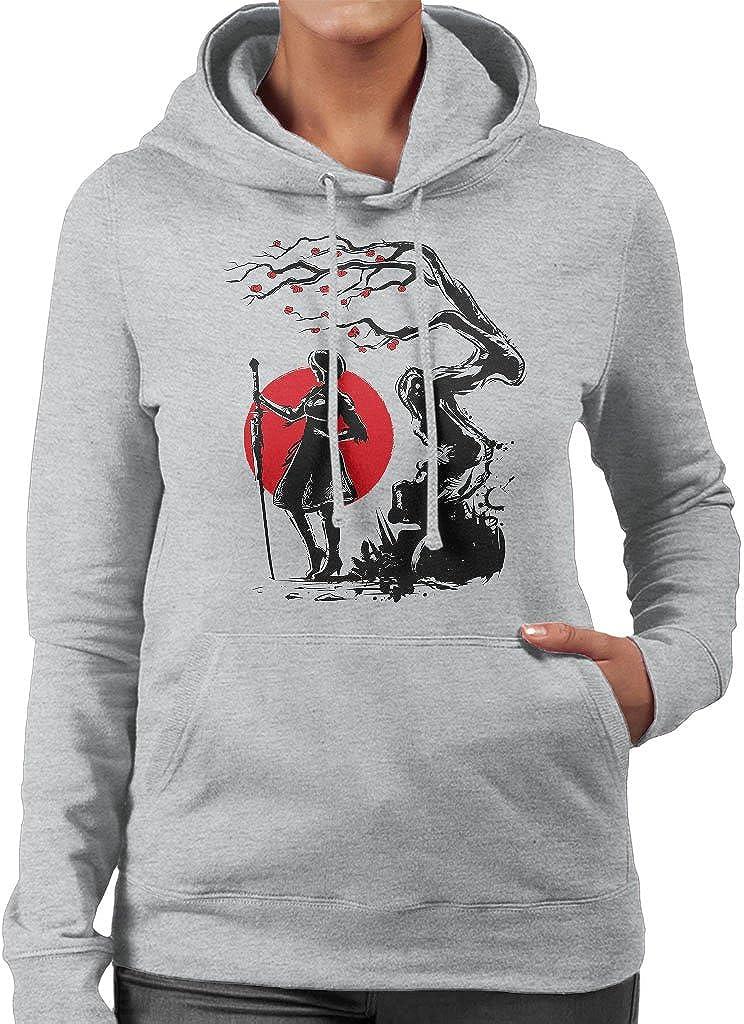Cloud City 7 Nier Automata 2B Under The Sun Womens Hooded Sweatshirt