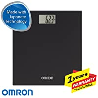 Omron HN-289 Digital Weighing Scale (Black)