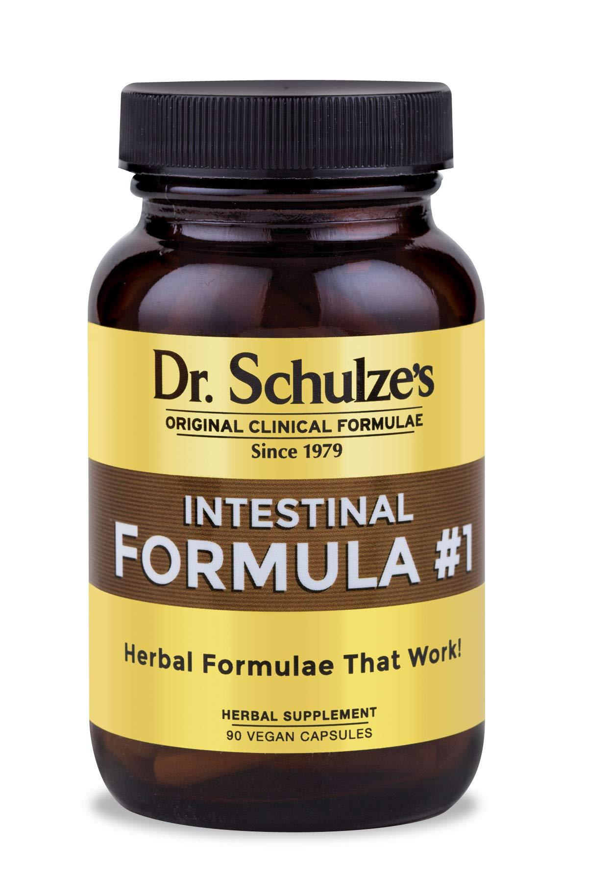 Dr. Schulze's Colon Bowel Cleanse; Intestinal Formula #1 - All Natural - 90 Count Capsules by Dr. Schulze's
