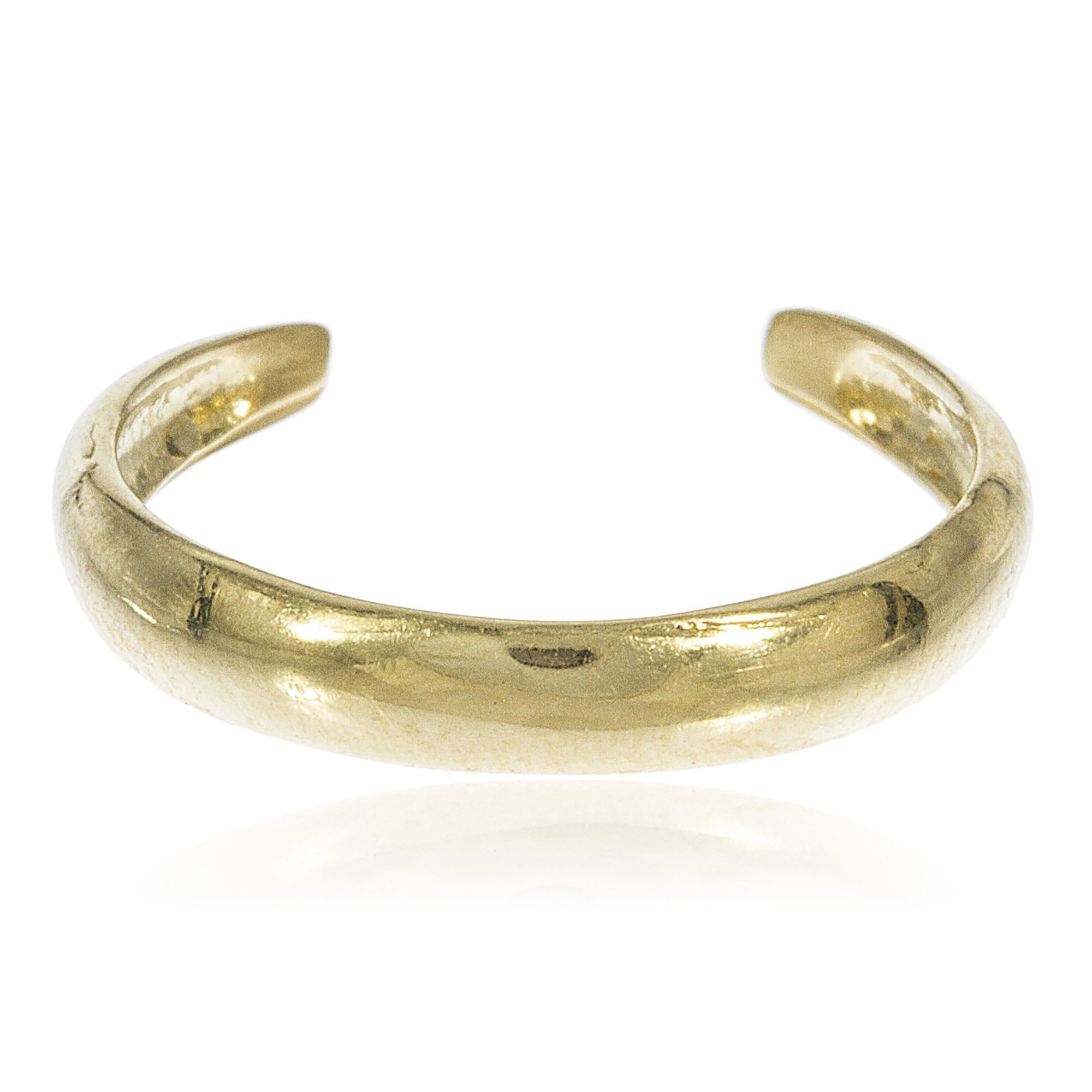 10k Yellow Gold Simple Toe Ring (GO-694)