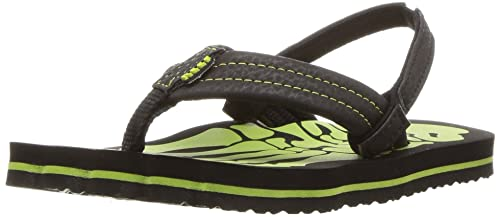 a7b1891fb629 Reef Boys  Grom Skeleton Green Flip Flops  Amazon.co.uk  Shoes   Bags