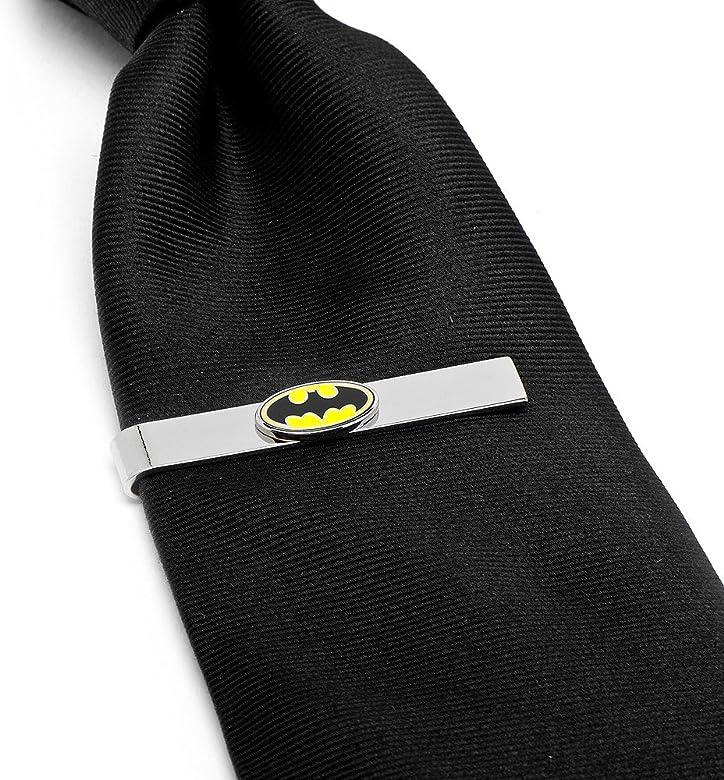 DC Comics Gemelos con el Logo de Batman Originals Corbatas: Amazon ...