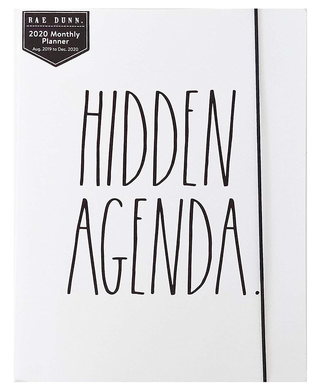 Amazon.com : Rae Dunn Hidden Agenda - 2020 Monthly Planner ...