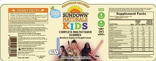 Amazon.com: Sundown Naturals - Multivitamínico completo para ...