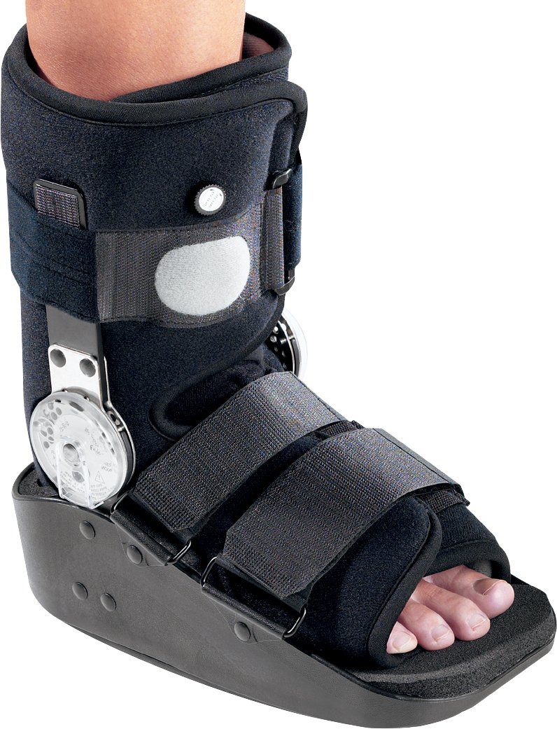 DonJoy MaxTrax Air ROM (Range of Motion) Ankle Walker Brace / Walking Boot, Large by DonJoy