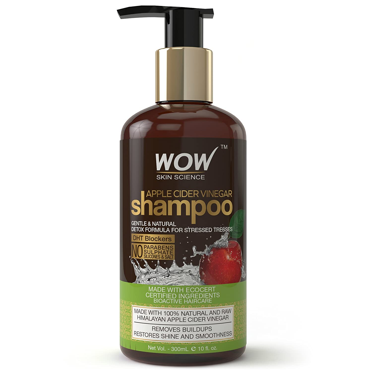 WOW Apple Cider Vinegar Shampoo, 300ml