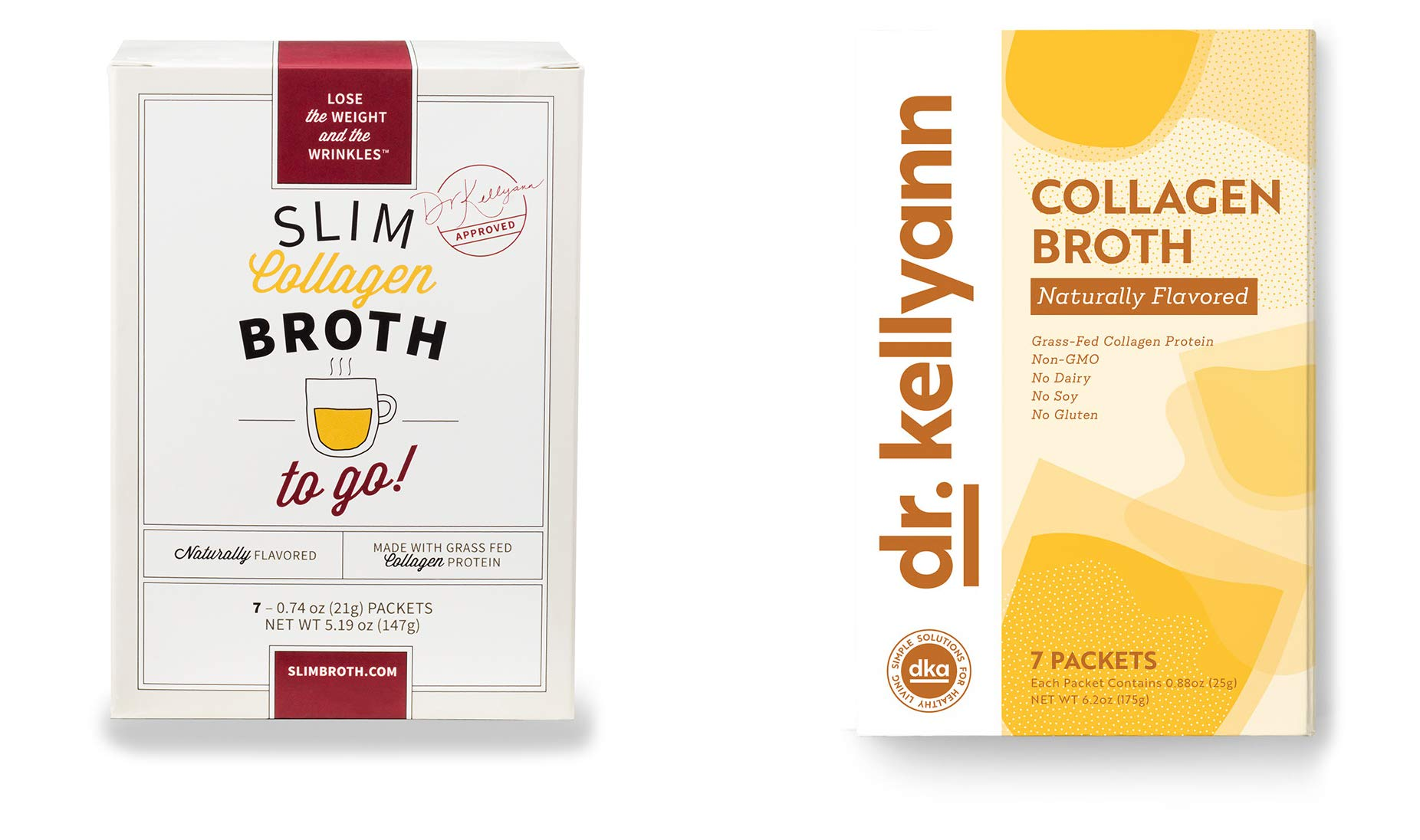 Bone Broth Collagen To Go Packets: (7 servings per box) from Bone Broth Expert Dr. Kellyann | 100% Grass-Fed Collagen | Daily Serving of Collagen by Dr. Kellyann (Image #8)