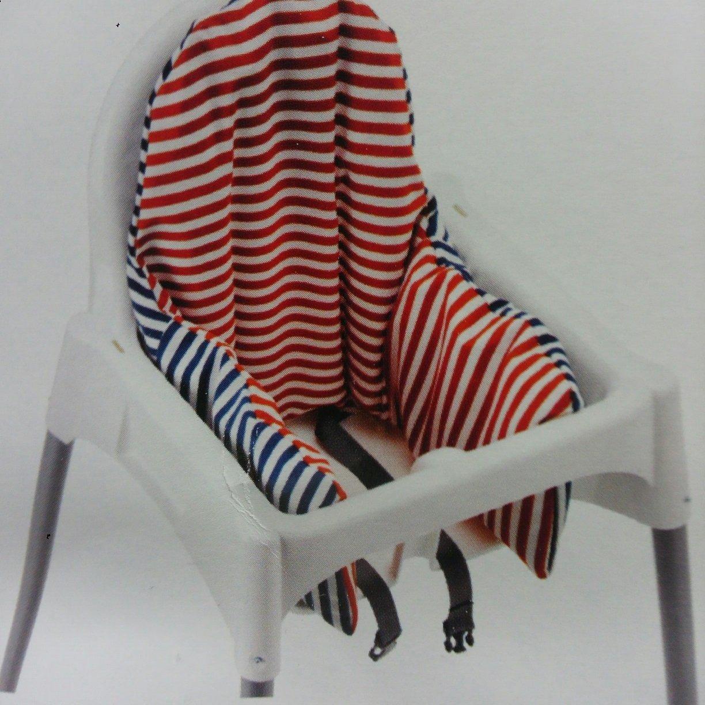2 x IKEA ANTILOP Trona cojín y cubierta - Reversible con 2 ...