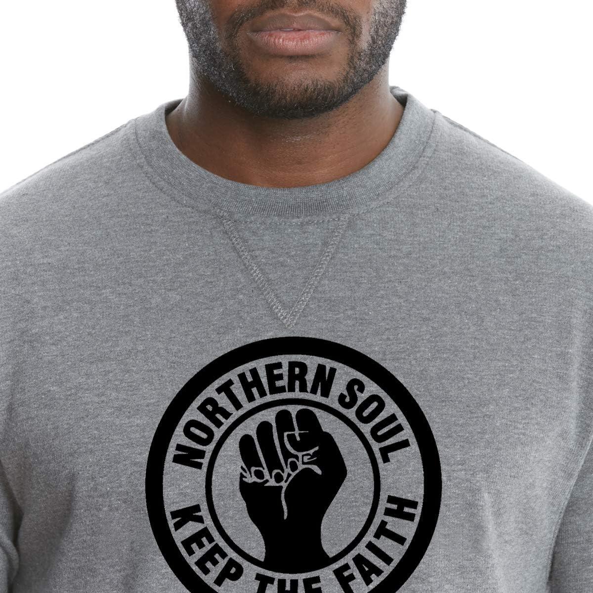Northern Soul Keep The Faith Logo Sweatshirt.