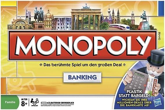 Hasbro Parker 00114100 - Monopoly Banking (versión Alemana): Amazon.es: Juguetes y juegos