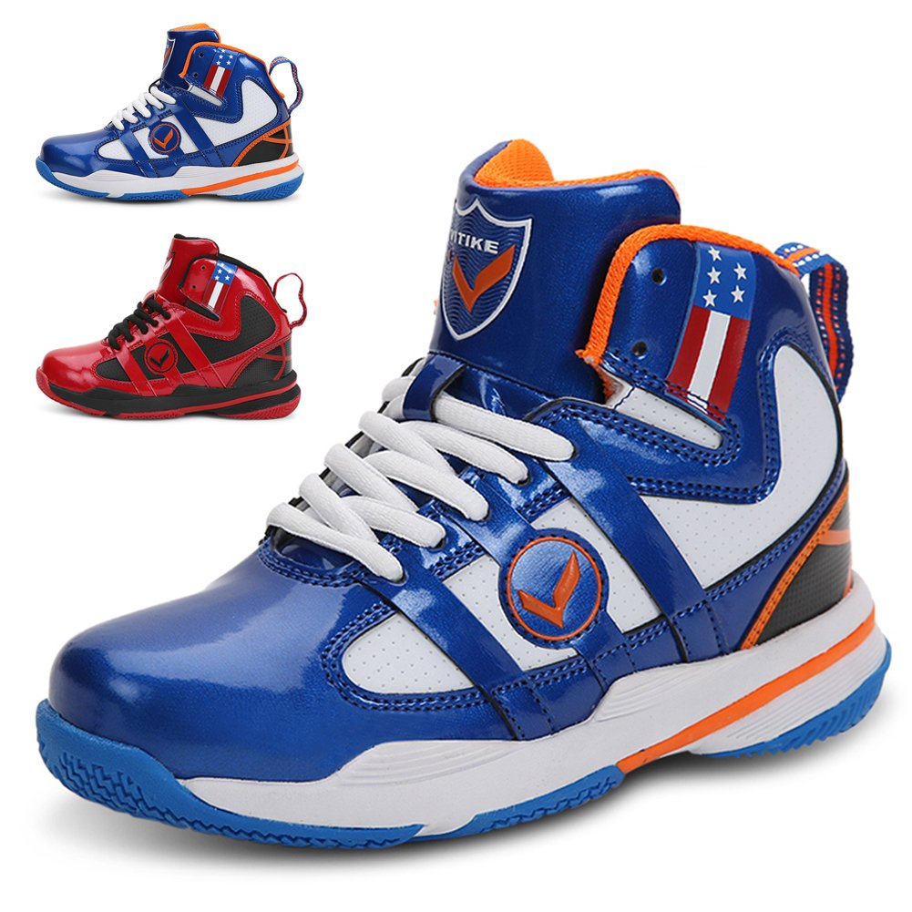 WETIKE Basketball Shoes Kids High-Top Fashion Sneaker Athletic Sneakers for Unisex Youth (Little Kid/Big Kid)