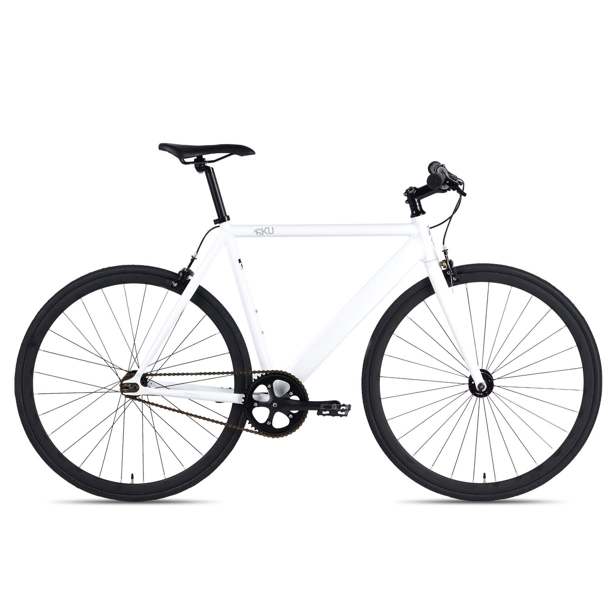 6ku Aluminum Fixed Gear Single Speed Fixie Urban Track Bike 2019
