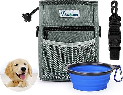 Amazon.com: Pawaboo Bolsa de entrenamiento para perro y ...