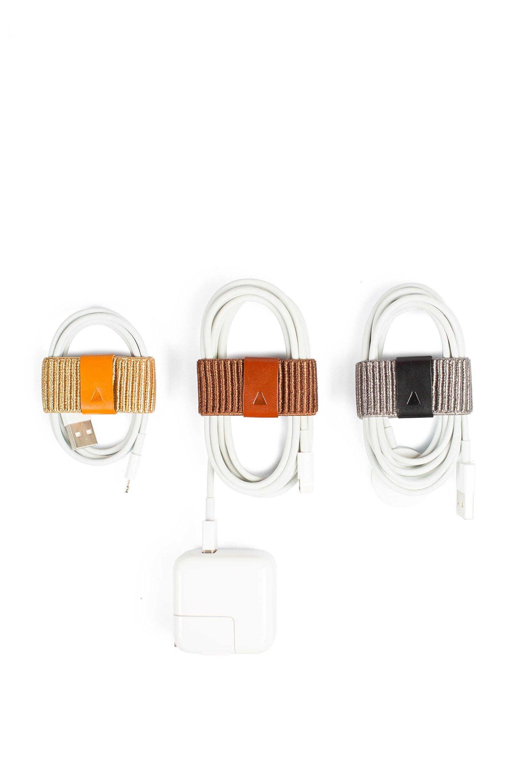 CableBand Multi-purpose Cable Organizer Set (Metallic)