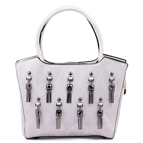 Ritupal collection Women s Shoulder Handbag PU (Off-White)  Amazon.in  Shoes    Handbags 20307fd591e90