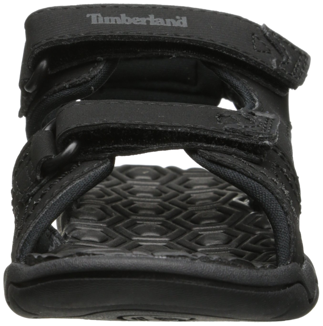 Timberland Adventure Seeker Two-Strap Sandal (Toddler/Little Kid),Blackout,9 M US Toddler by Timberland (Image #4)