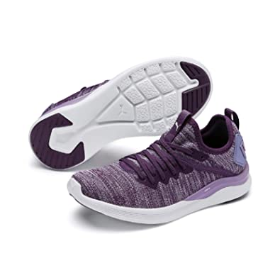 timeless design e6f41 efbb4 PUMA Kids' Ignite Flash Evoknit Jr Sneaker, Sweet Lavender ...