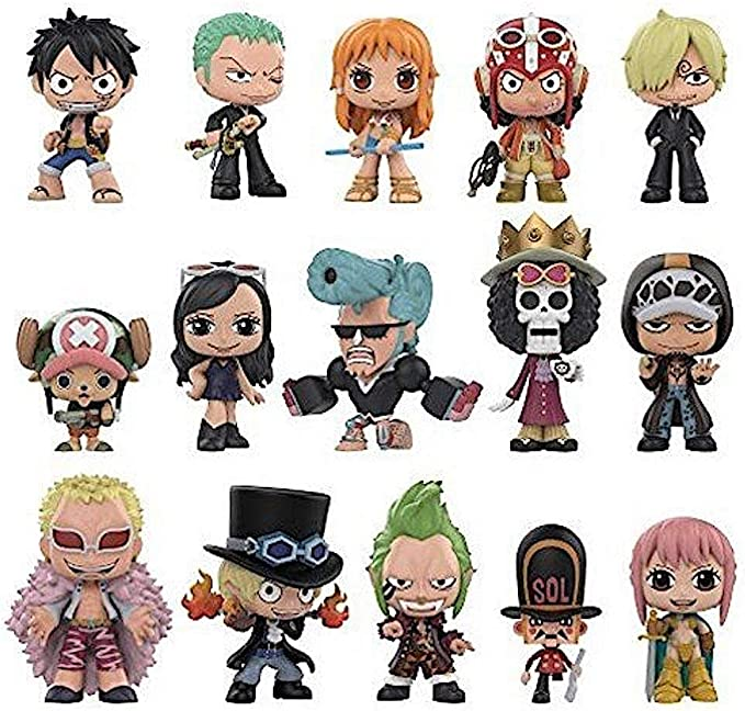 Figures by the Unit You Choose ! Funko Mystery Minis One Piece