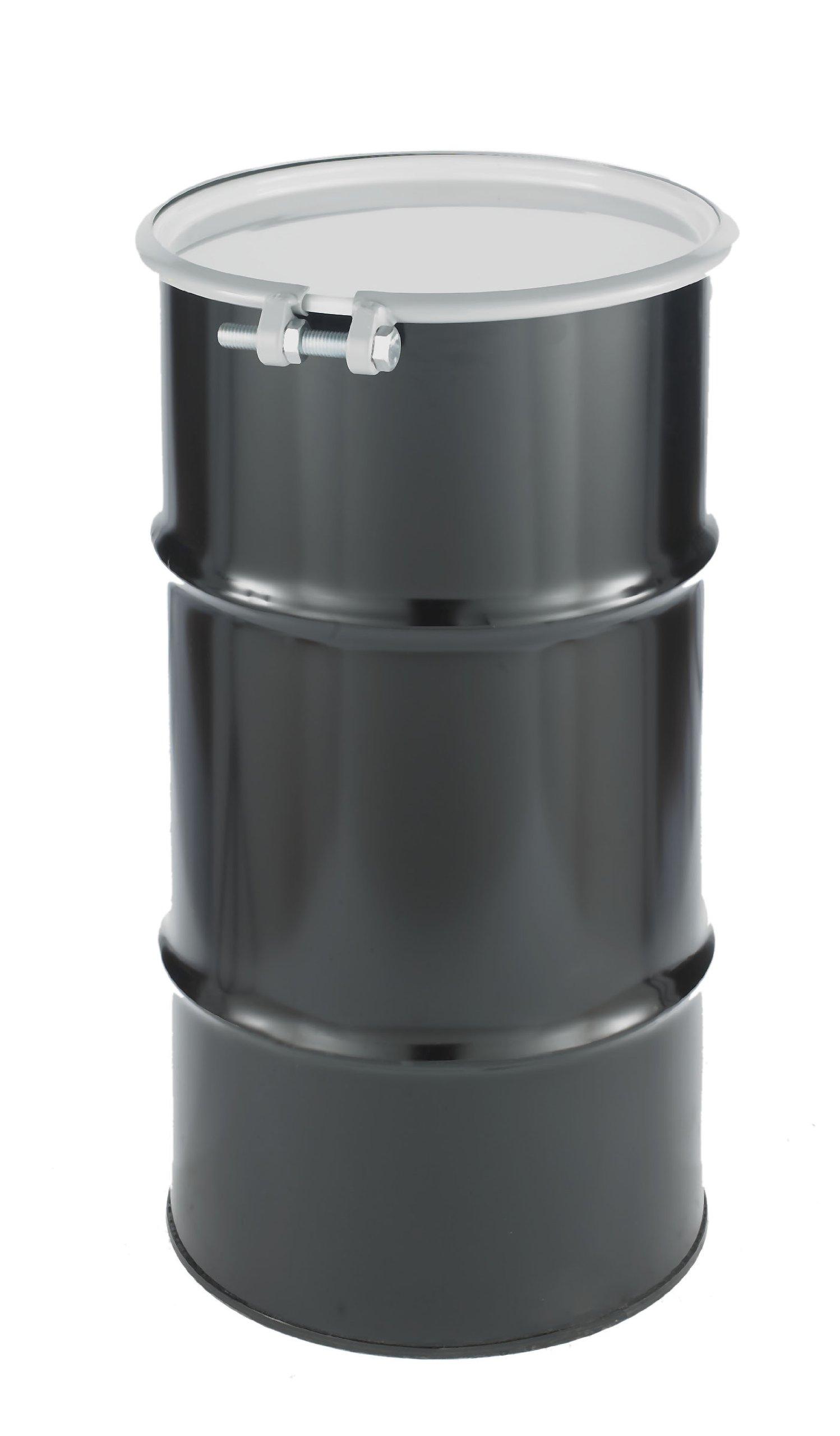 SKOLNIK Carbon Steel Open Head Drum, 16 gallons, Bolt Ring, 0.9mm Body Gauge (Pack of 1)