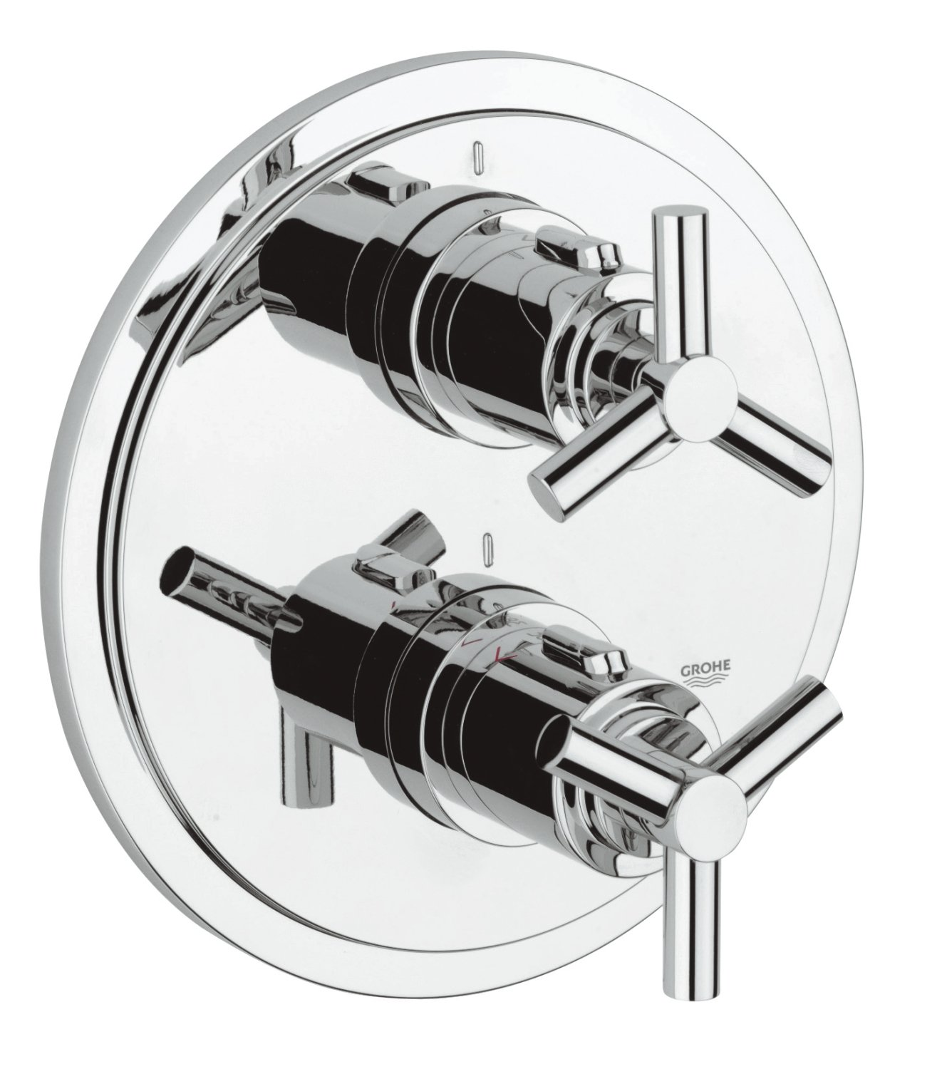Amazon.com: GROHE Atrio Thermostatic Shower Mixer (Without Concealed Body  Rapido T): Home U0026 Kitchen