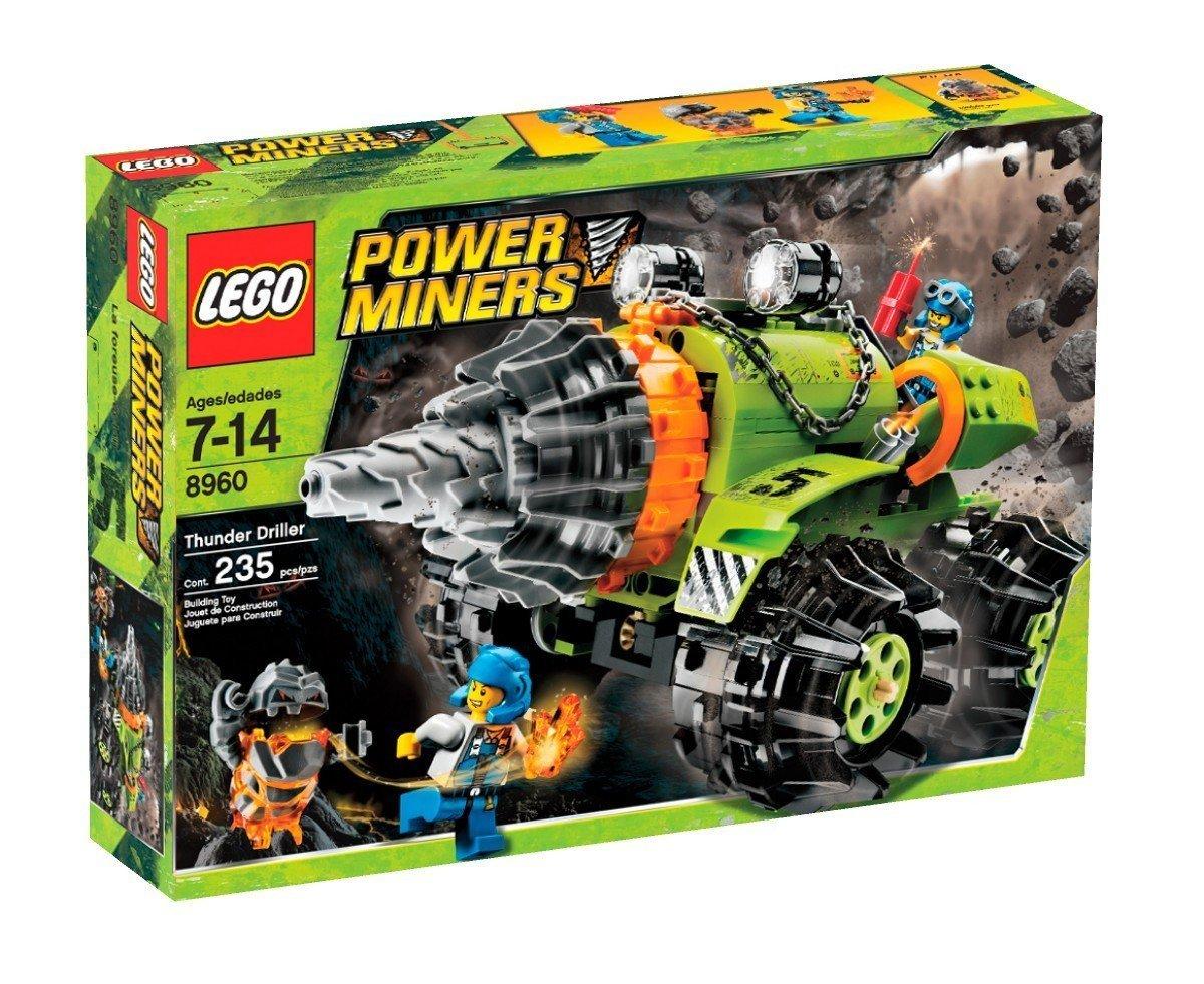 LEGO Power Miners Thunder Driller (8960) [並行輸入品]   B01HKN8TFW