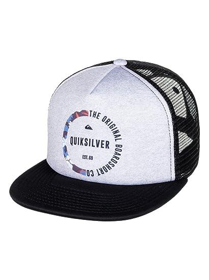 Quiksilver - Gorra Trucker - Niños 8-16 - One Size - Negro