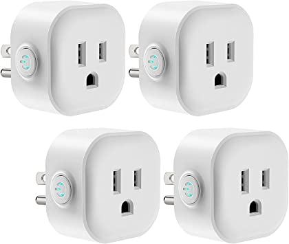 WiFi Smart Socket US Plug Remote APP Control Outlet Fit Alexa Echo Google Home