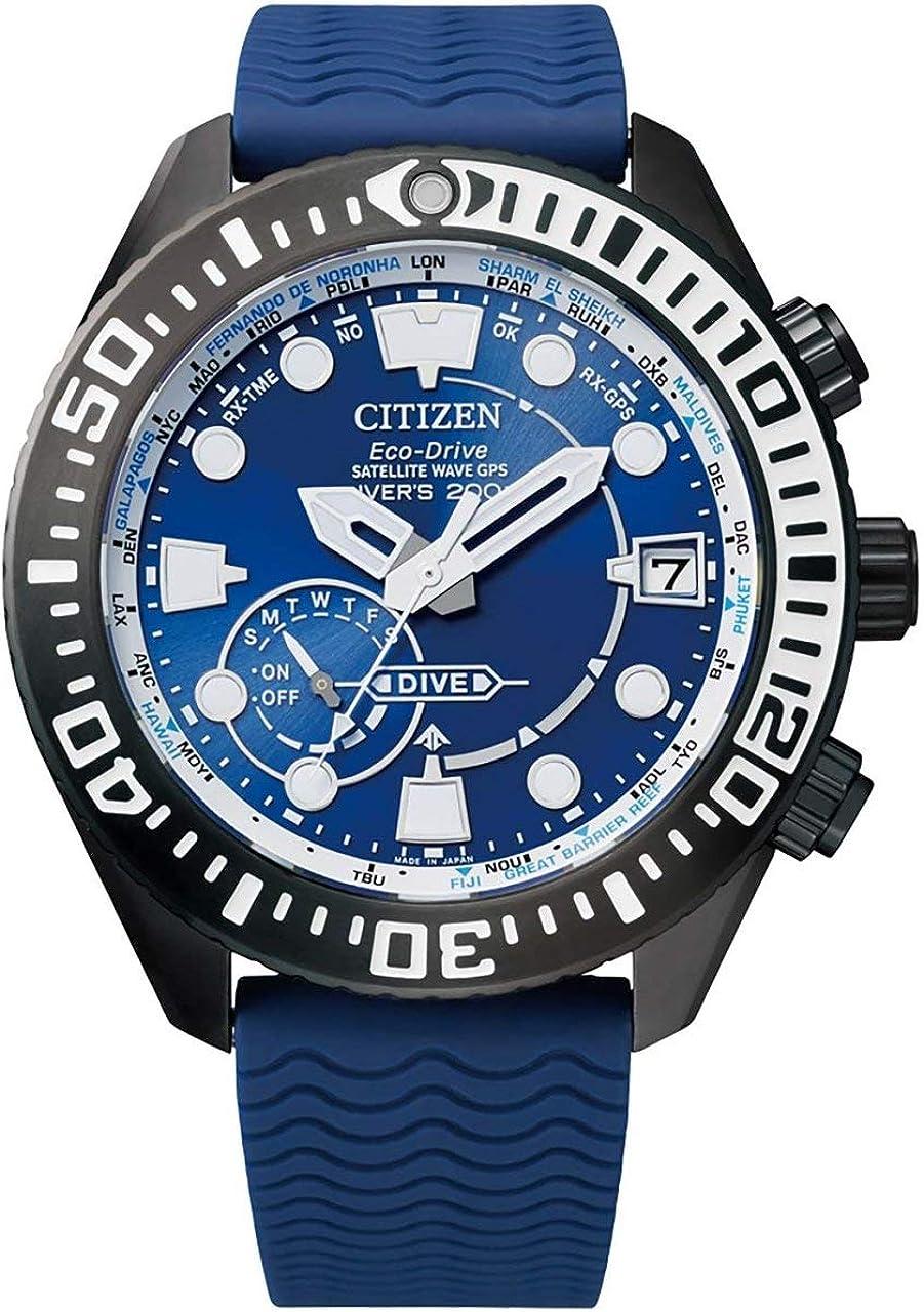 Citizen Eco-Drive Satellite Wave GPS CC5006-06L - Reloj de buceo para hombre