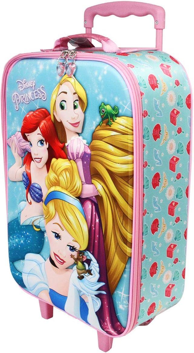 Karactermania Princesas Disney Beautiful - Maleta Trolley Soft 3D, Multicolor, Un tamaño