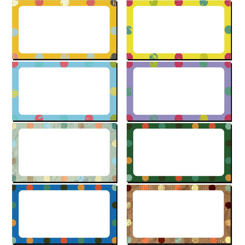 40 Pezzi Etichette di Cancellazione a Secco Magnetica Nome Targhette Flessibile Adesivi Etichetta Magnetica per Lavagne Frigorifero Artigianato Colore A, 3.2 x 1.2 Pollici
