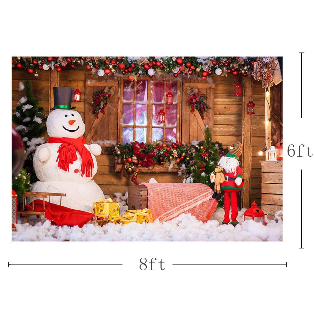 Mehofoto D/écorations de f/ête de No/ël Banni/ère Fonds de Studio Photo Props de No/ël /Étoiles Photographie Toiles de Fond