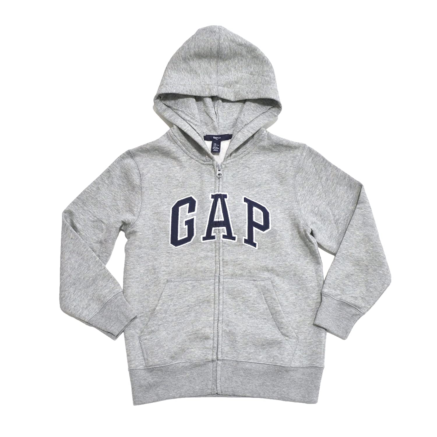 GAP Boys Fleece Arch Logo Zip Up Hoodie
