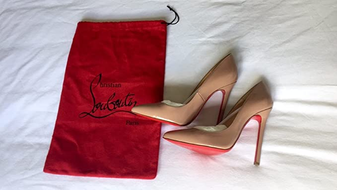 879ae2e6b5 Christian Louboutin Pigalle 120mm Nude Patent Leather: Amazon.co.uk: Sports  & Outdoors