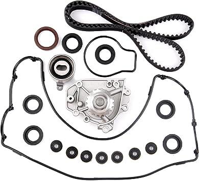 Scitoo Timing Belt Water Pump Gasket Set Fit 1.8L 2.0L Honda CR-V Acura Integra RS GS LS B18B1 B20B4 B20Z2 DOHC Engine