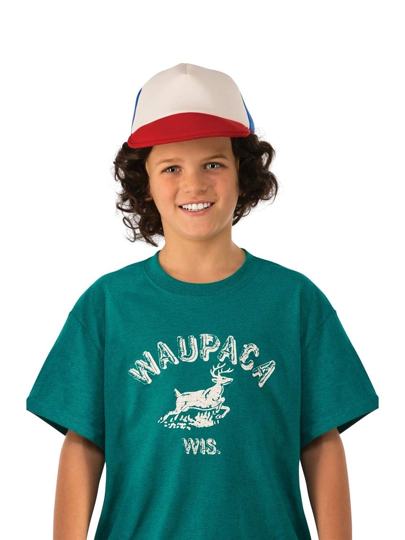 Rubies Costume Co Boys Stranger Things Dustins Waupaca Shirt