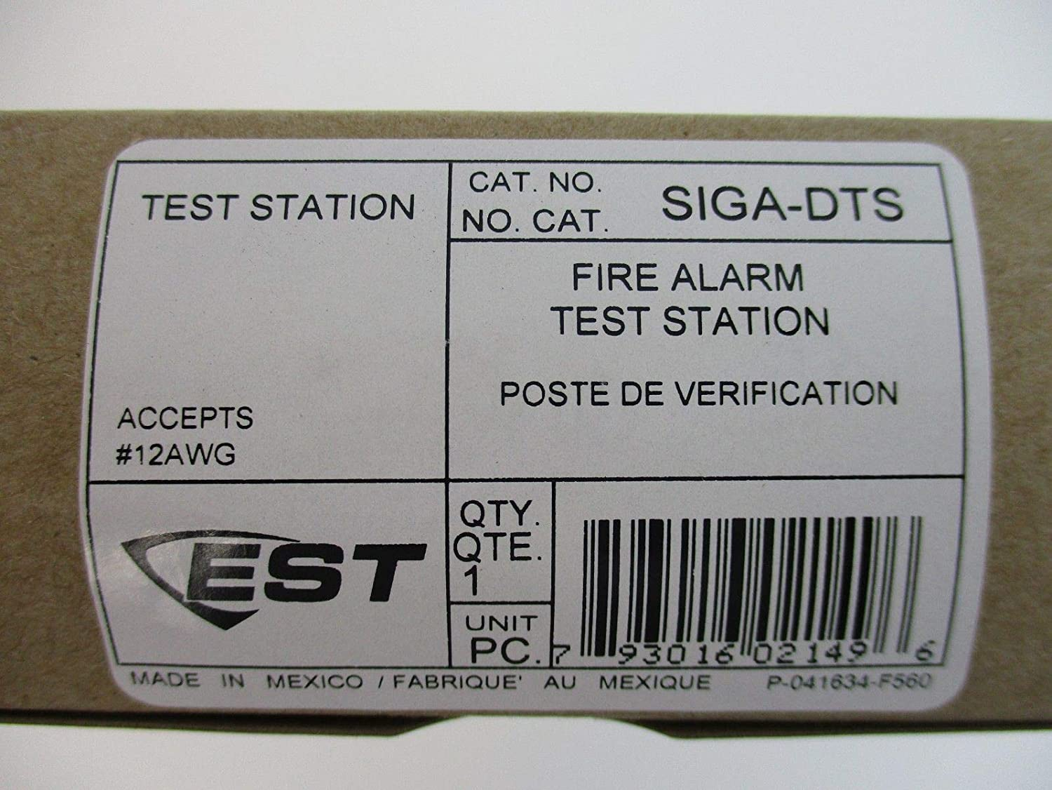 Amazon.com: Edwards SIGA-DTS - Duct Smoke Detector Test ...