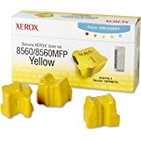 Xerox 108R00725 Solid Ink Phaser 8560/8560MFP, Yellow (3 Sticks) Sealed Xerox Box