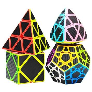COOJA Speed Cube Set Pyraminx + Megaminx + Mastermorphix + ...